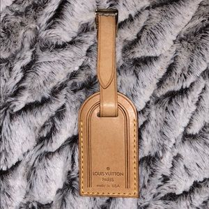 Louis Vuitton luggage tag small